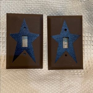 Two brand new switch plates covers -single lights